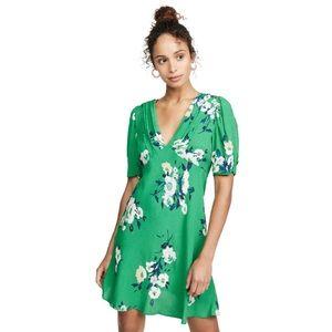 Free People Neon Garden Floral Mini Dress Size 2